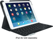 Logitech - Ultrathin Portfolio Keyboard Case for Apple® iPad® Air - Carbon Black