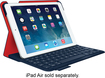 Logitech - Ultrathin Portfolio Keyboard Case for Apple® iPad® Air - Midnight Navy