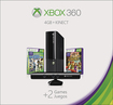 Cheap Video Games Stores Microsoft - Xbox 360 4gb Holiday Bundle With Kinect And 2 Games