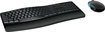 Microsoft - Sculpt Comfort Desktop Wireless USB Keyboard and Mouse - Black