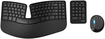 Microsoft - Sculpt Ergonomic Desktop Wireless USB Keyboard and Mouse - Black