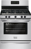 "Frigidaire - Gallery 30"" Self-Cleaning Freestanding Gas Range - Stainless-Steel"