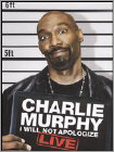 Charlie Murphy: I Will Not Apologize - Live (DVD) (Enhanced Widescreen for 16x9 TV) (Eng) 2009