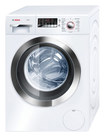Bosch - Axxis Plus 2.2 Cu. Ft. 15-Cycle Ultra Capacity High Efficiency Front-Loading Washer - White/Chrome