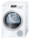 Bosch - Axxis 4.0 Cu. Ft. 15-Cycle Large-Capacity Electric Condensation/Ventless Dryer - White/Silver