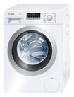 Bosch - Axxis 2.2 Cu. Ft. 15-Cycle Ultra Capacity High-Efficiency Front-Loading Washer - White/Silver