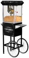 Elite Deluxe - 8-Oz. Old-Fashioned Popcorn Trolley - Black