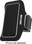 Incase - Armband for Apple® iPhone® 5 and 5s - Black/Silver