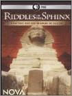 NOVA: Riddles of the Sphinx (DVD) (Enhanced Widescreen for 16x9 TV) (Eng) 2010