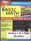 The Basic Math Tutor: Adding 3 & 4 Digit Numbers (DVD) (Eng) 2009