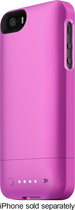 mophie - juice pack helium Charging Case for Apple® iPhone® 5 and 5s - Pink