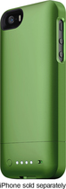 mophie - juice pack helium Charging Case for Apple® iPhone® 5 and 5s - Green