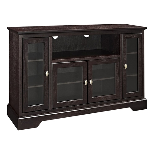 Walker Edison - Highboy TV Stand for Most Flat-Panel TVs Up to 55 - Espresso