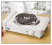 Elite Cuisine - 1000W Single-Element Electric Buffet Burner