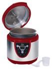 Elite Platinum - 24-Cup Digital Electronic Pressure Cooker - Red
