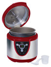 Elite Platinum - 24-Cup Digital Electronic Pressure Cooker - Red
