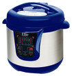 Elite Platinum - 8-Quart Pressure Cooker - Blue