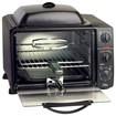 Elite Platinum - 0.8 Cu. Ft. 6-Slice Toaster Oven Broiler - Gray/Black