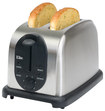Elite Platinum - 2-Slice Wide-Slot Toaster - Stainless-Steel