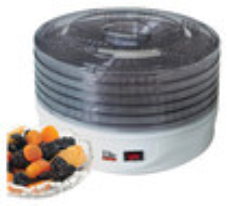 Elite - 5-Tray Food Dehydrator - White