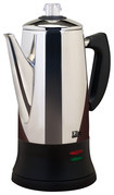 Elite Platinum - 12-Cup Automatic Percolator - Stainless-Steel