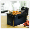 Elite Platinum - 3-1/2-Quart Deep Fryer - Black