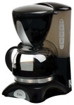 Elite Cuisine - 4-Cup Coffeemaker - Black