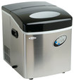 "Mr. Freeze - 17"" 35-Lb. Freestanding Icemaker - Silver"