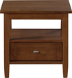 Simpli Home - Warm Shaker Collection End Table - Honey Brown