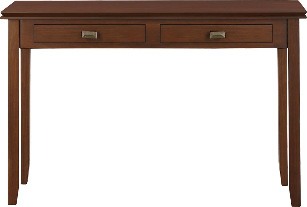 Simpli Home - Artisan Collection Console Sofa Table - Auburn Brown