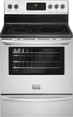 "Frigidaire - Gallery 30"" Self-Cleaning Freestanding Electric Range - Stainless-Steel"