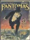 Fantomas Collection (5 Disc) (silent) (dvd) (black & White) 18624696