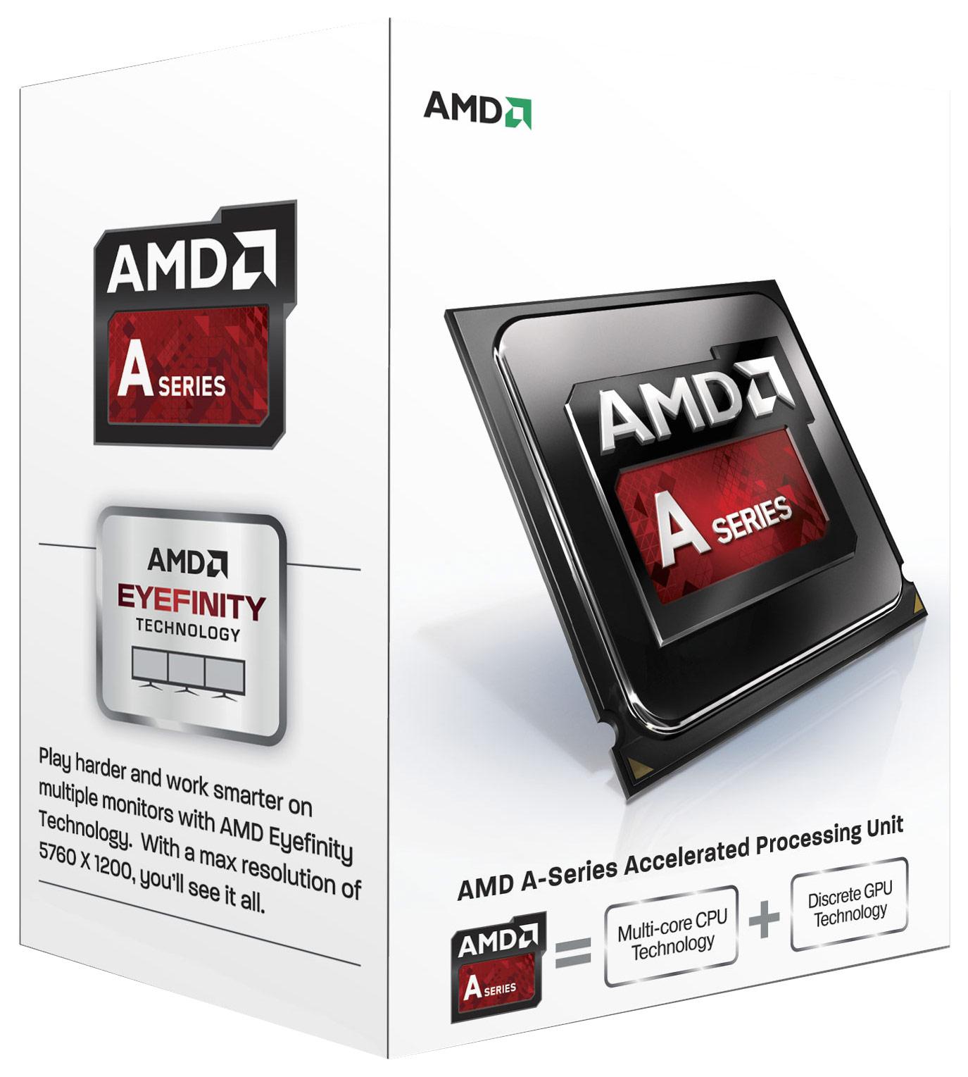 AMD - A4-7300 3.8GHz Processor - White