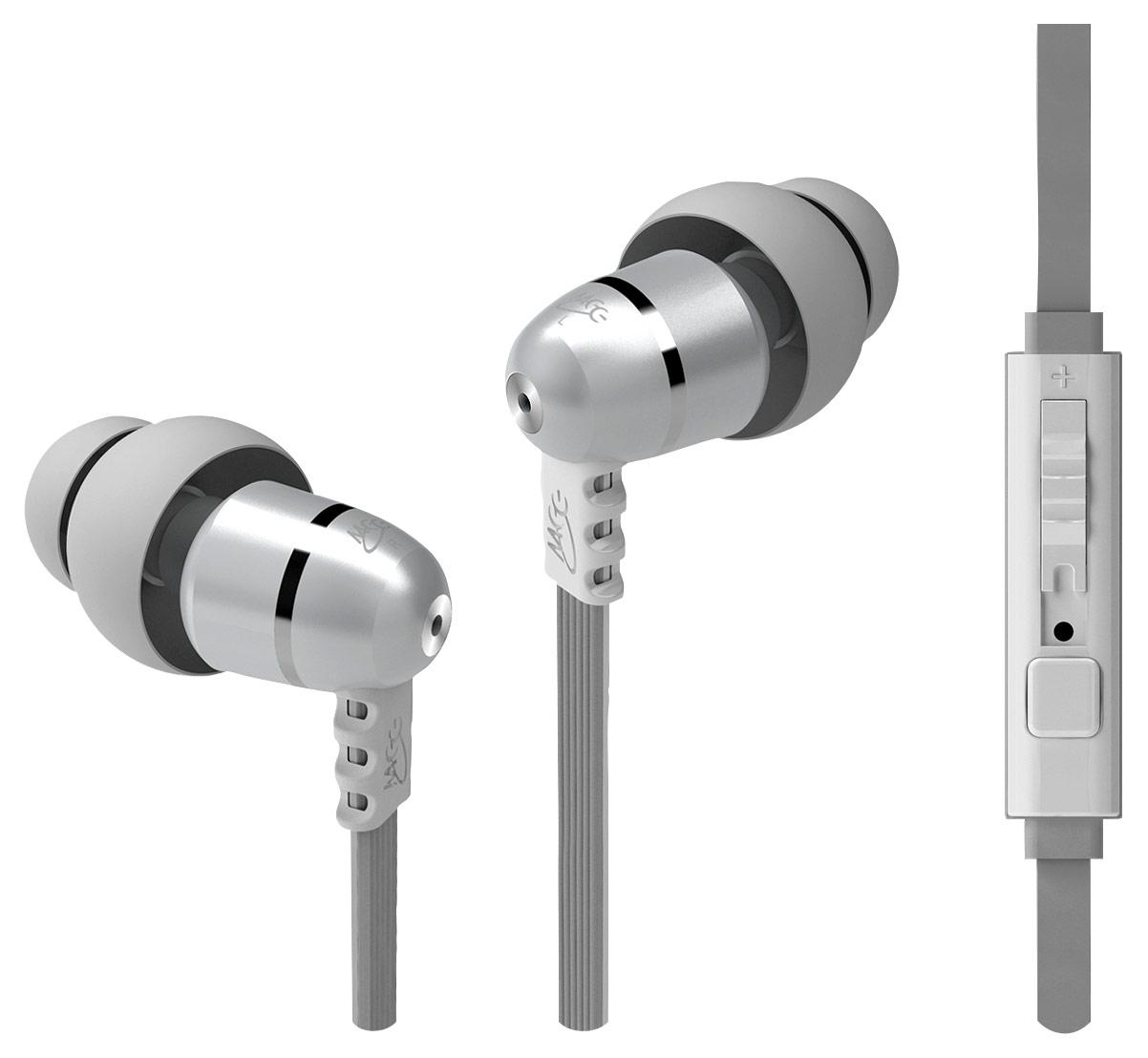 MEElectronics - M9P Earbud Headphones - Pearl