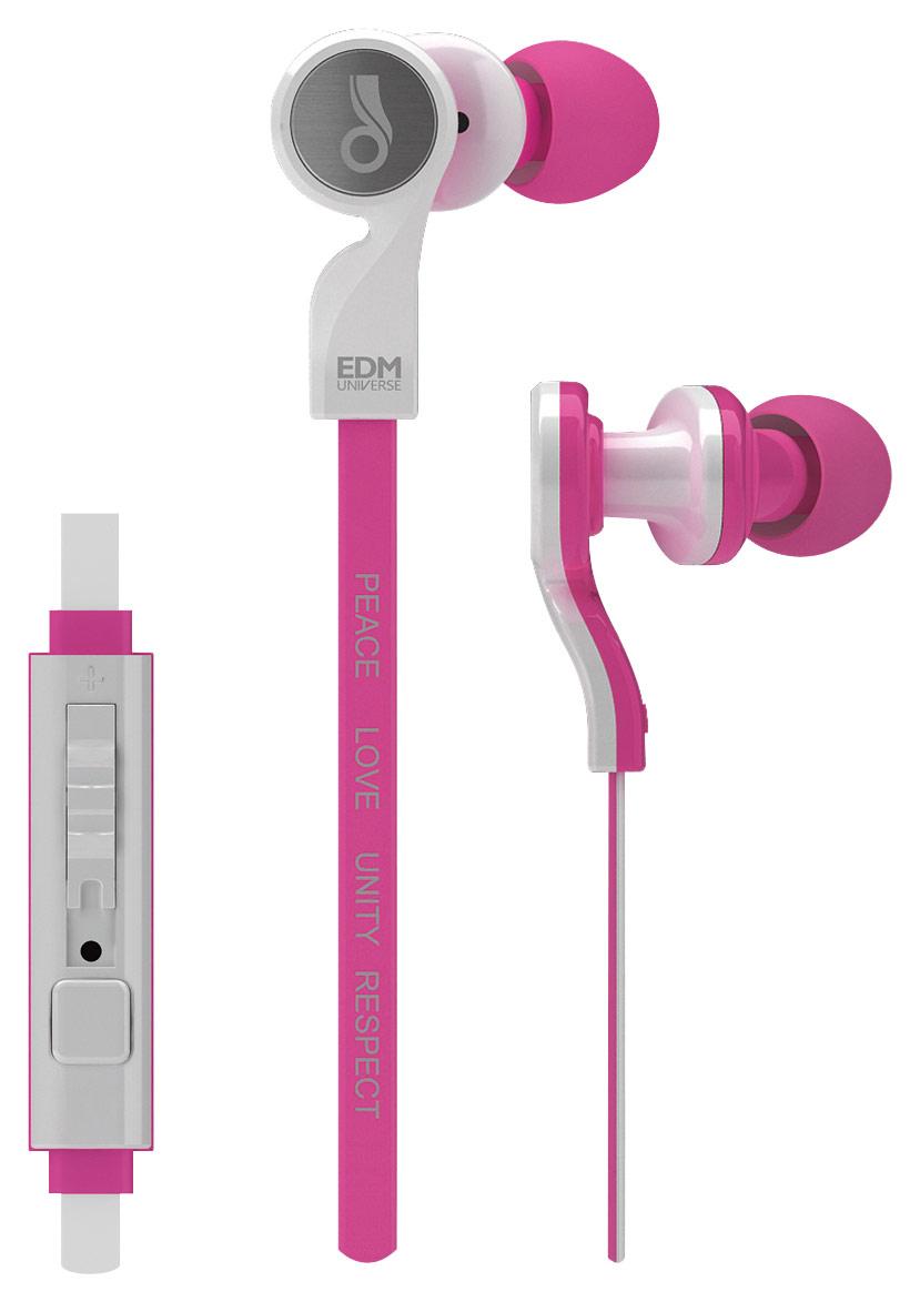 MEElectronics - EDM Universe Earbud Headphones - Pink