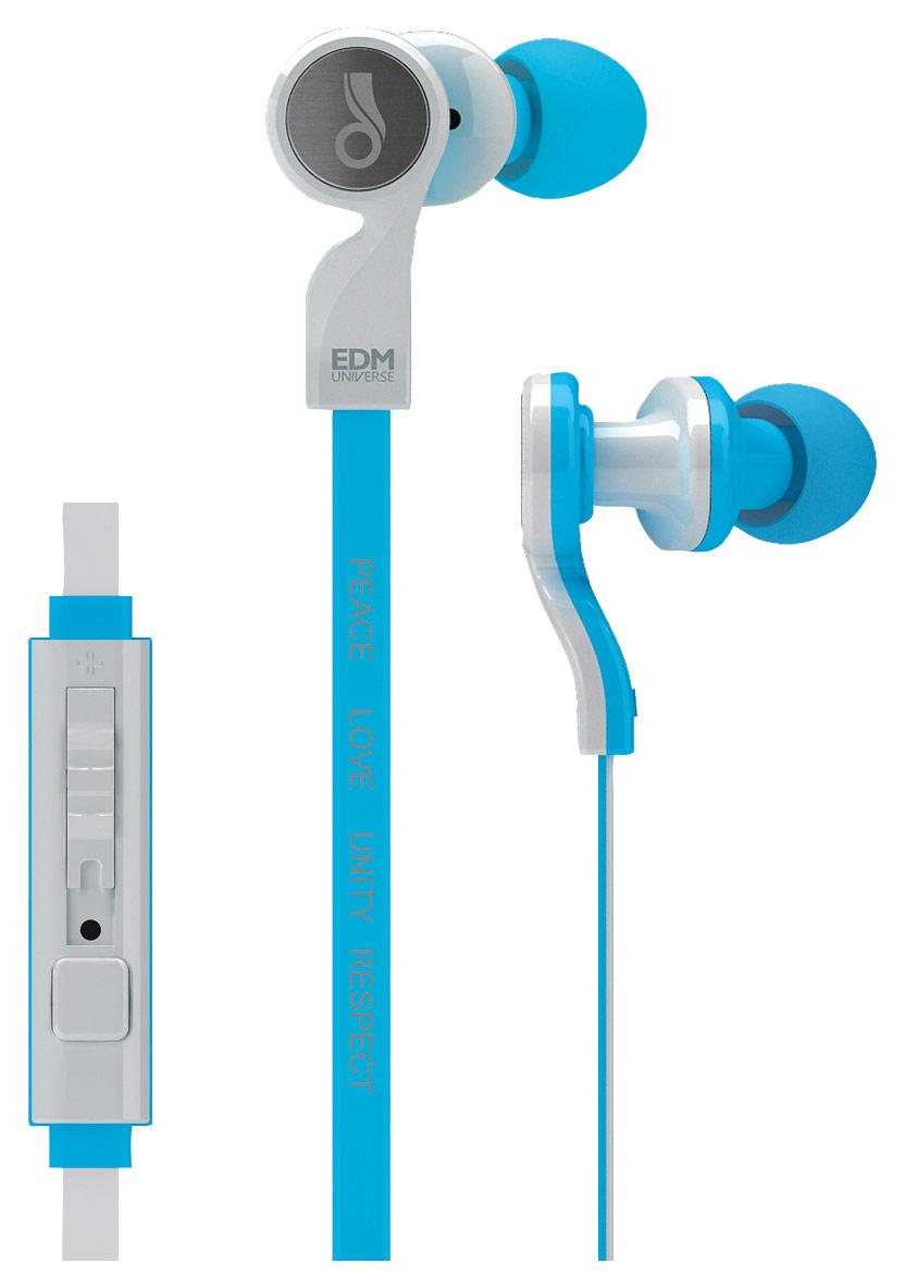 MEElectronics - EDM Universe Earbud Headphones - Blue