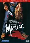 Maniac [30th Anniversary Edition] [2 Discs] (dvd) 18777771