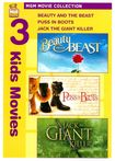 Beauty And The Beast/puss In Boots/jack The Giant Killer [2 Discs] (dvd) 18827728