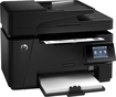HP - LaserJet Pro MFP M127fw Network-Ready Wireless Black-and-White All-in-One Laser Printer - Black