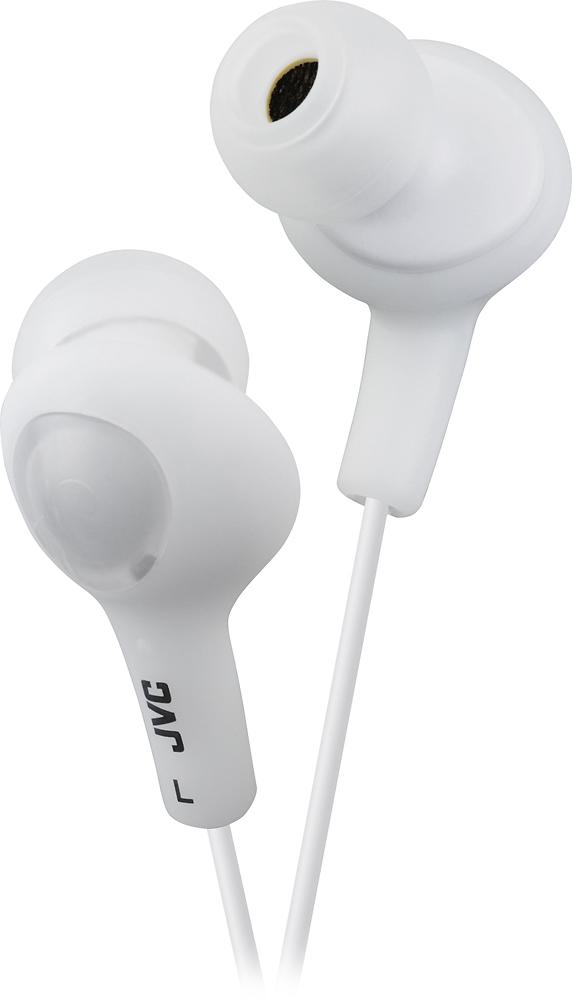 JVC - Gumy Earbud Headphones - White