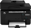 HP - LaserJet Pro MFP M127fn Black-and-White All-in-One Laser Printer - Black