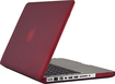 "Speck - SeeThru Satin Case for 13"" Apple® MacBook® Pro - Red"