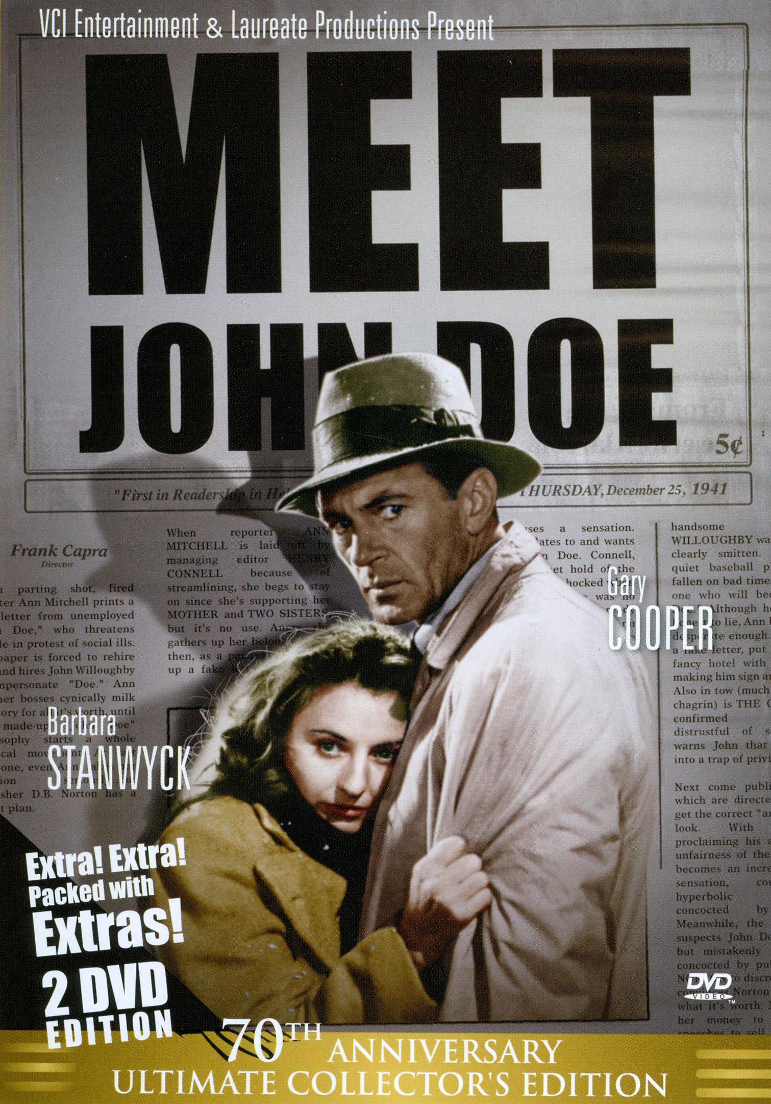 Meet John Doe [70th Anniversary Ultimate Collector's Edition] (dvd) 18835099