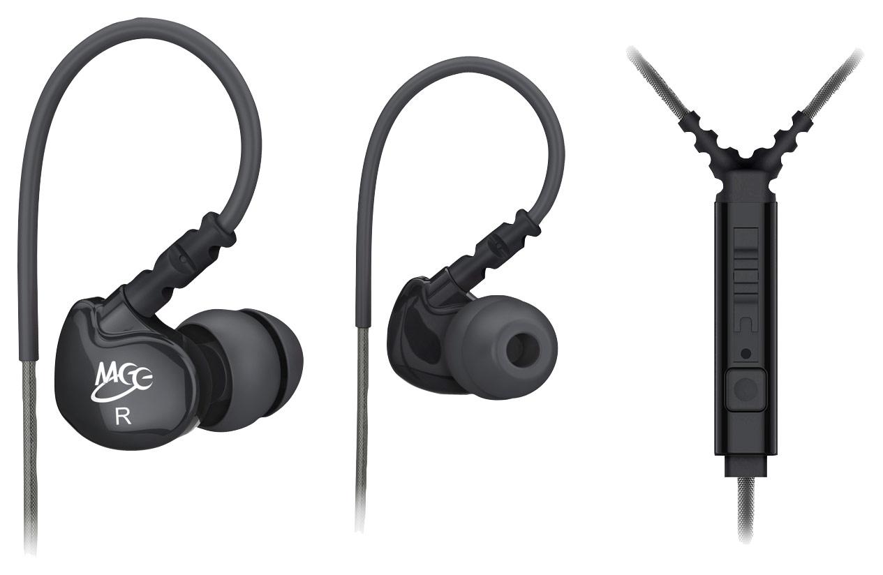 MEElectronics - Sport-Fi Earbud Headphones - Black