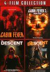 Cabin Fever/cabin Fever 2/descent/descent 2 [4 Discs] (dvd) 18910763