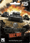 Wargaming.net - World of Tanks $25 Card - Multicolor