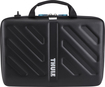 "Thule - Gauntlet Attaché Case for 15"" Apple® MacBook® and MacBook Pro - Black"