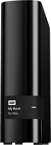 WD - My Book for Mac 2TB External USB 3.0/2.0 Hard Drive - Black