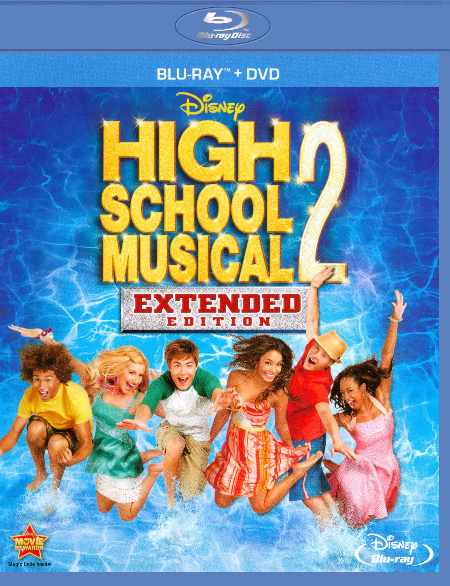 High School Musical 2 [blu-ray/dvd] 19048512