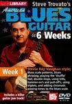 Lick Library: Steve Trovato's American Blues Guitar In 6 Weeks: Week 1 - Stevie Ray Vaughan Style (dvd) 19051922